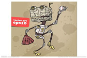 萝码学期机器人