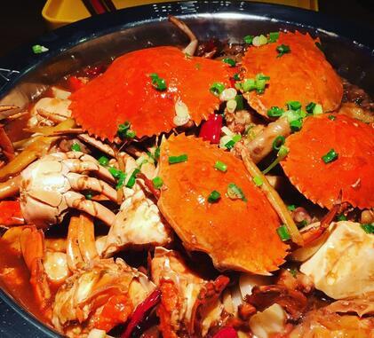 万达肉蟹煲
